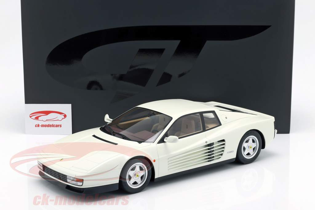 Ferrari Testarossa year 1984 white 1:12 GT-Spirit