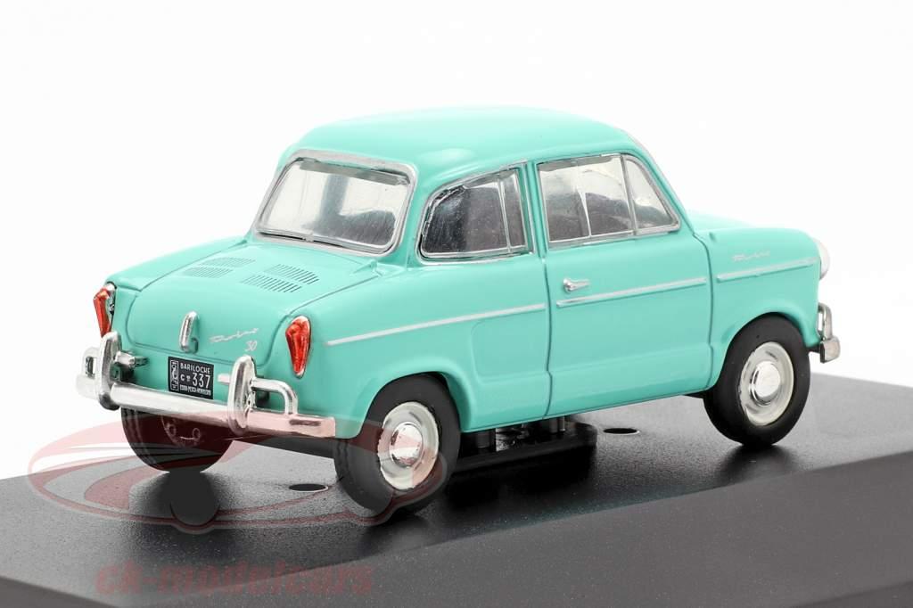 NSU Prinz 30 Bouwjaar 1959 turkoois 1:43 Altaya