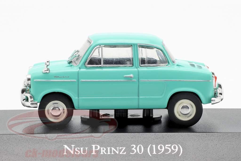 NSU Prinz 30 anno di costruzione 1959 turchese 1:43 Altaya