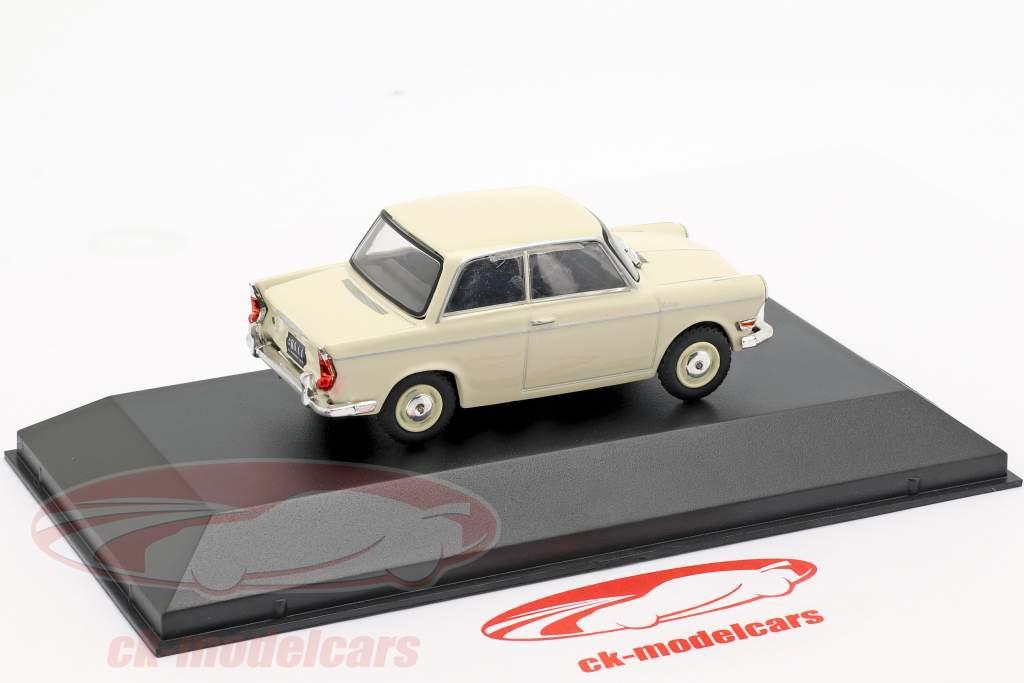 BMW De Carlo 700 année de construction 1960 crème blanc 1:43 Altaya