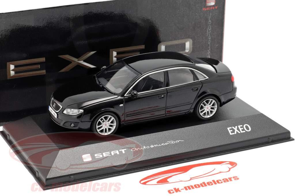 Seat Exeo sedan zwart 1:43 Seat