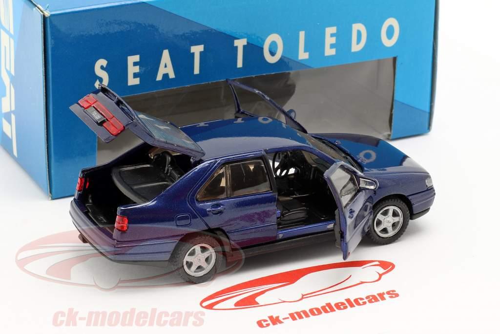 Seat Toledo I anno di costruzione 1991-99 blu scuro metallico 1:43 Seat