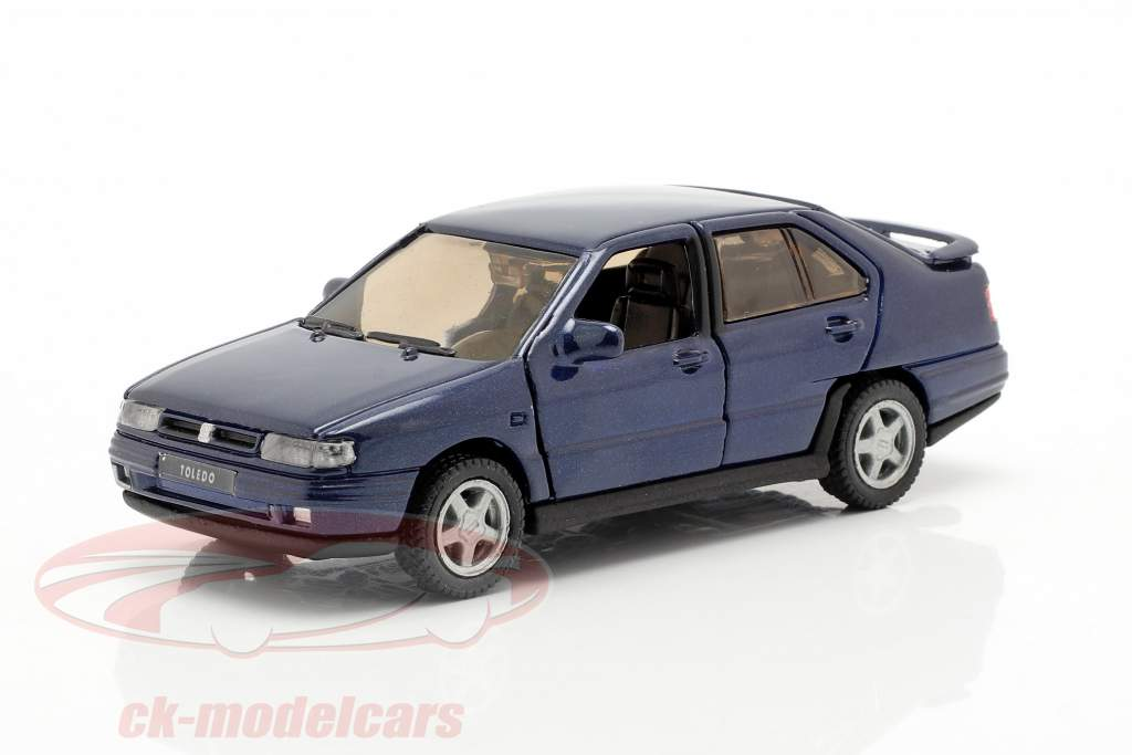 Seat Toledo I year 1991-99 dark blue metallic 1:43 Seat