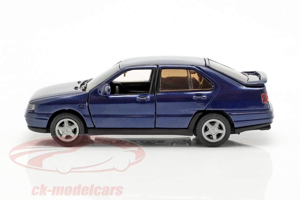 Seat Toledo I Bouwjaar 1991-99 donkerblauw metalen 1:43 Seat
