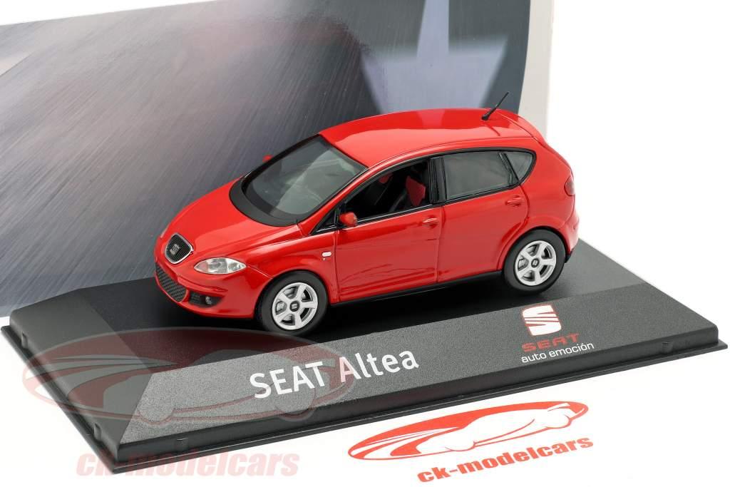 Seat Altea RHD rød 1:43 Seat