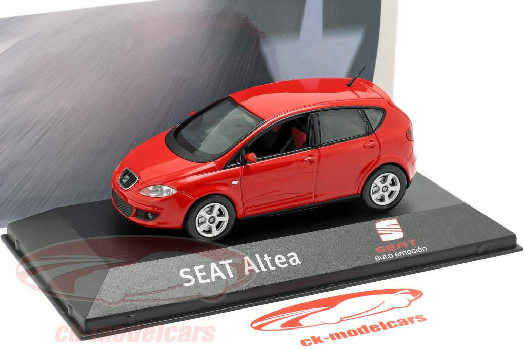 Seat Altea RHD vermelho 1:43 Seat