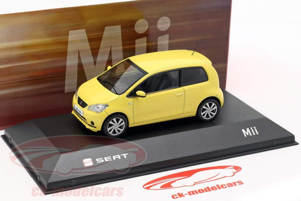 Seat Mii girasole giallo 1:43 Seat