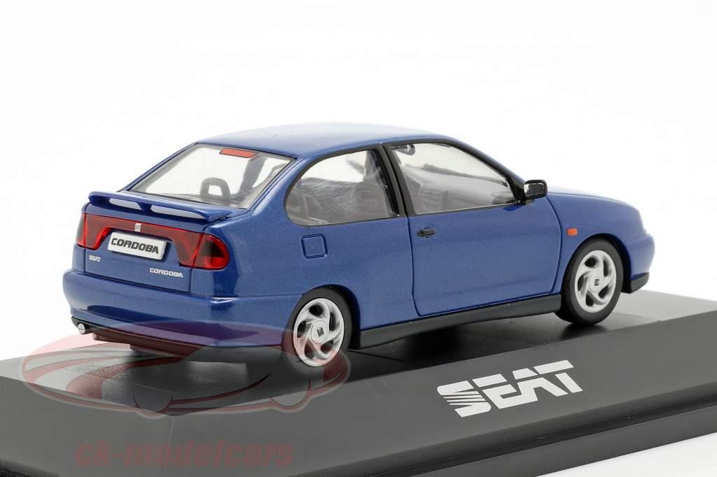 Seat Cordoba SX année de construction 1996 bleu foncé métallique 1:43 Seat