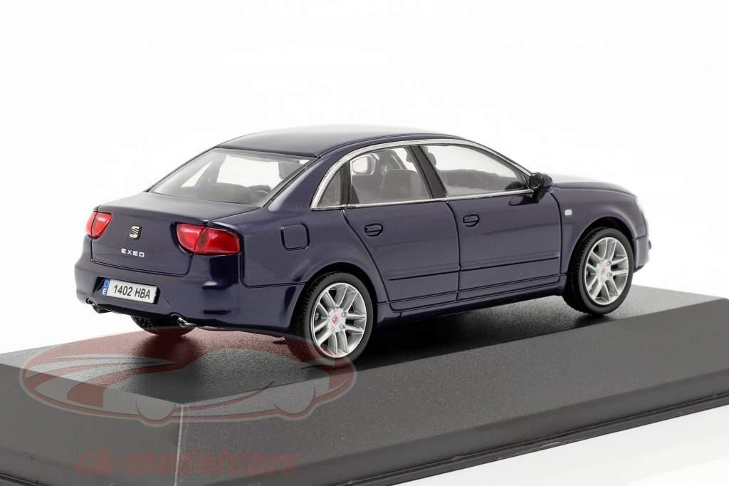 Seat Exeo sedan ada azul metálico 1:43 Seat