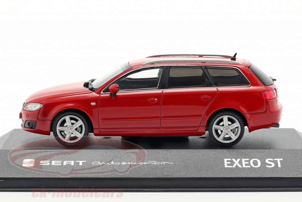 Seat Exeo ST ano de construção 2009 emotion vermelho 1:43 Seat