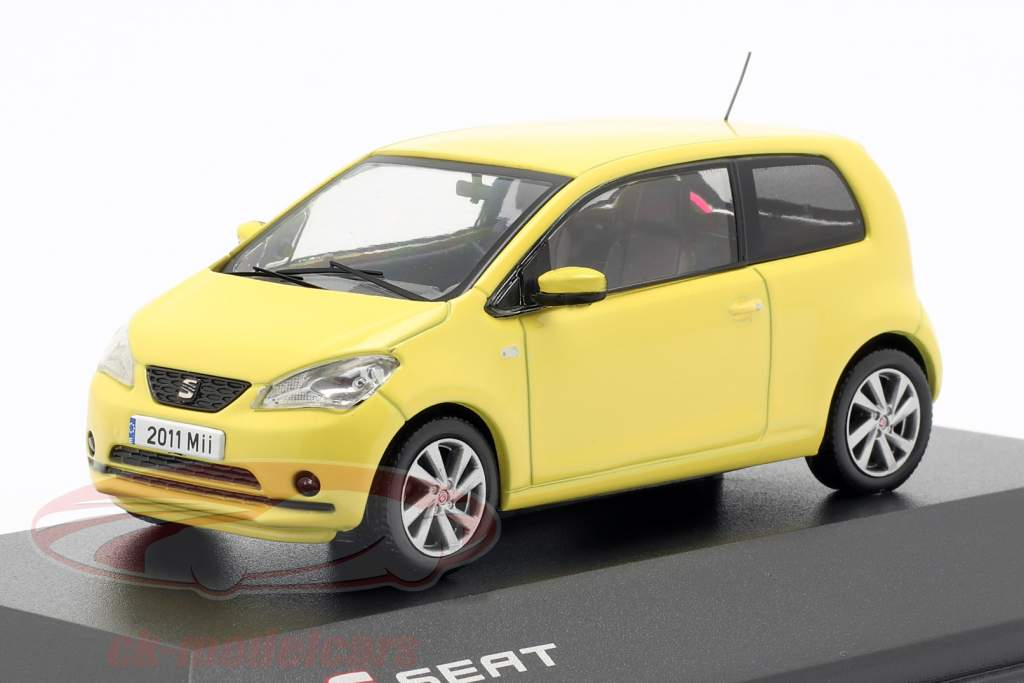 Seat Mii sunflower yellow 1:43 Seat