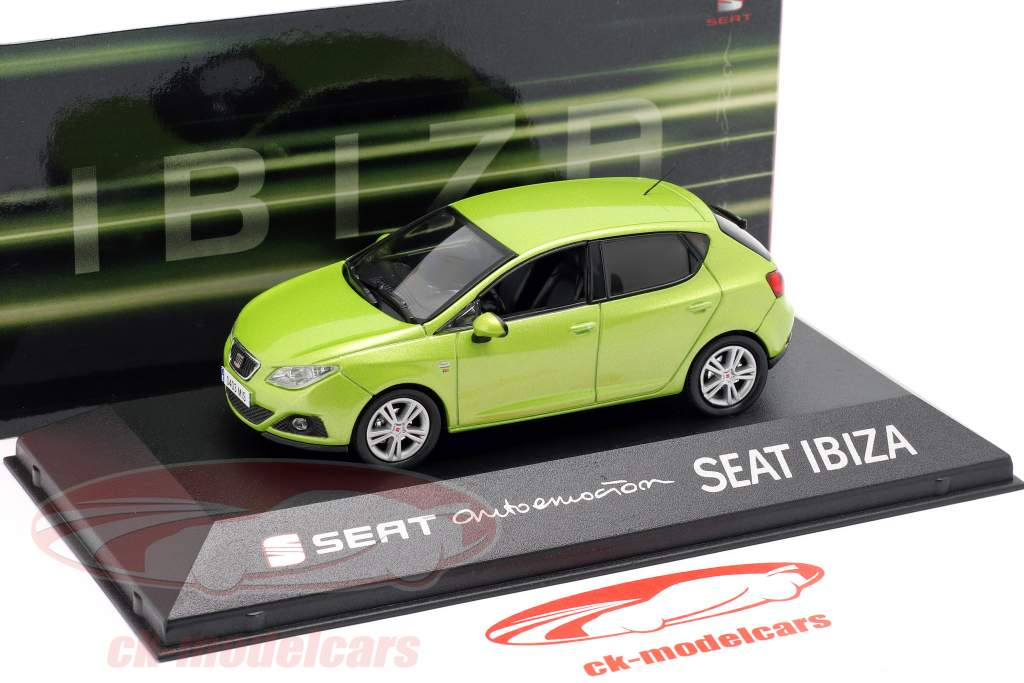 Seat Ibiza IV année de construction 2008-2017 amarillo citrus vert métallique 1:43 Seat