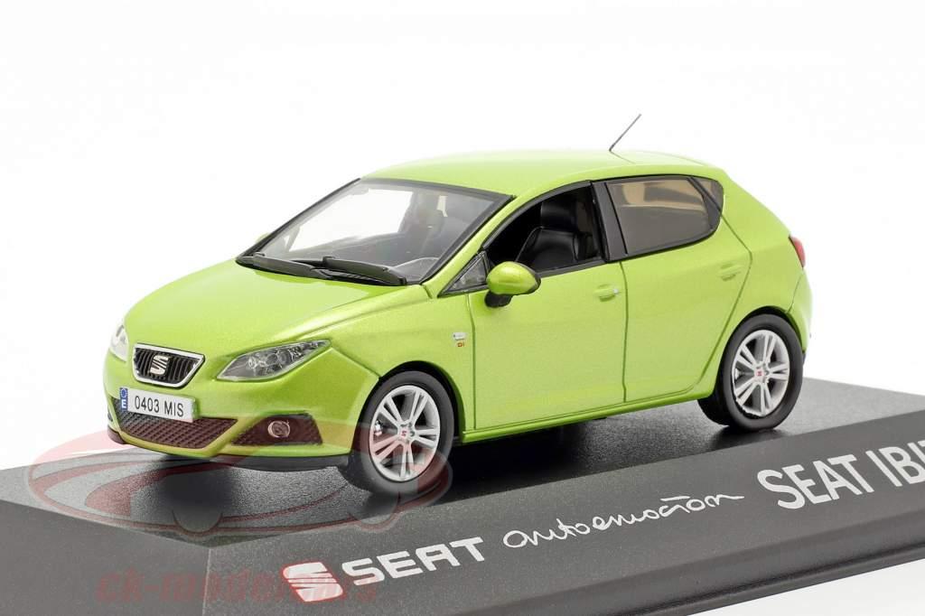 Seat Ibiza IV Bouwjaar 2008-2017 amarillo citrus groen metalen 1:43 Seat