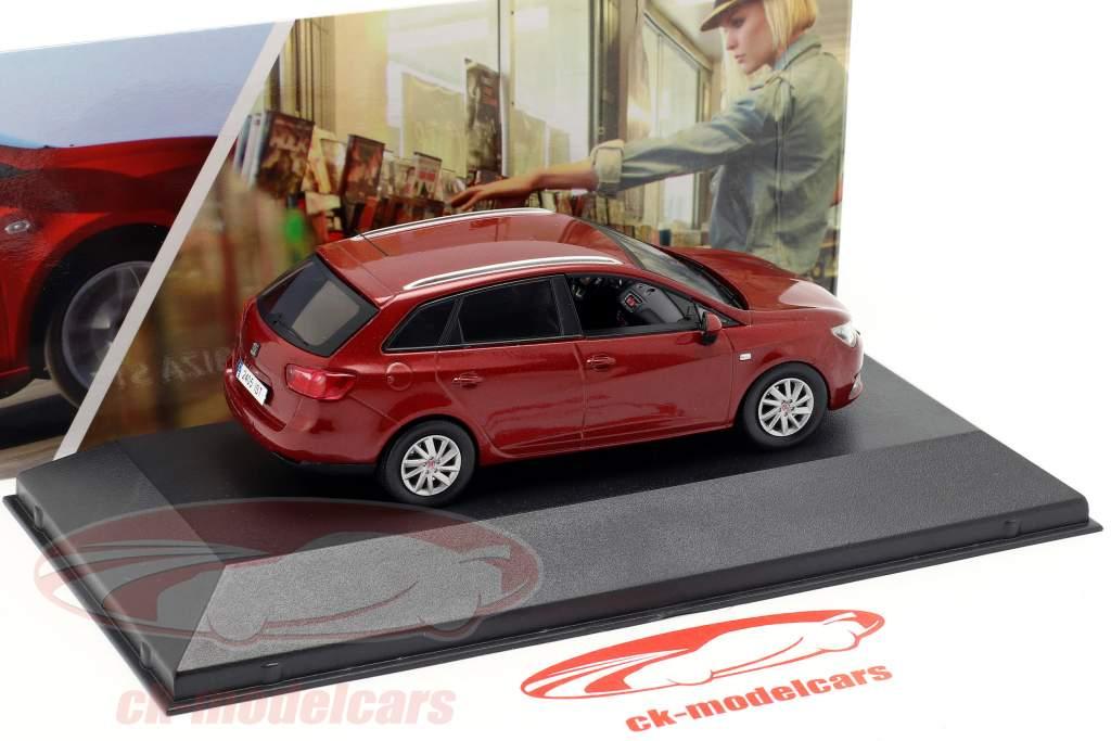 Seat Ibiza ST dunkelrot metallic 1:43 Seat
