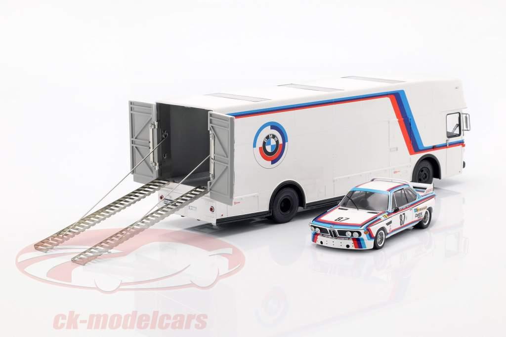 Mercedes-Benz O 317 raça caminhão BMW Motorsport branco 1:43 Schuco