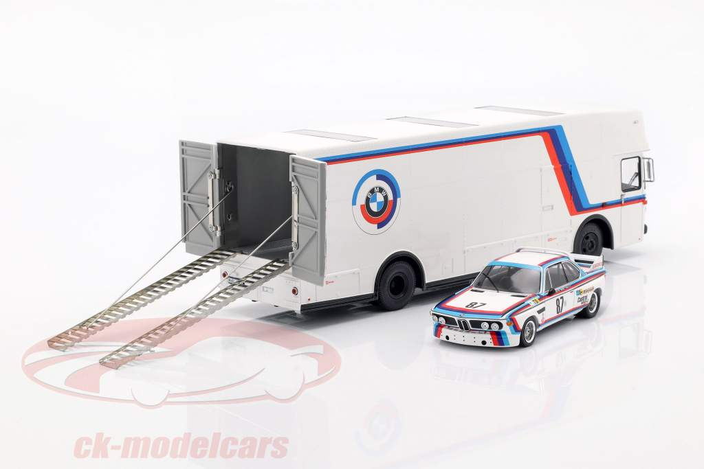 Mercedes-Benz O 317 Race Truck BMW Motorsport white 1:43 Schuco