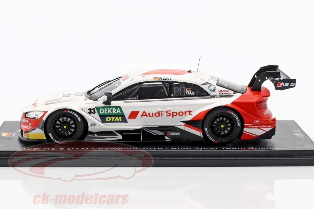 Audi RS 5 DTM #33 DTM Champion Rene Rast 2019 1:43 Spark
