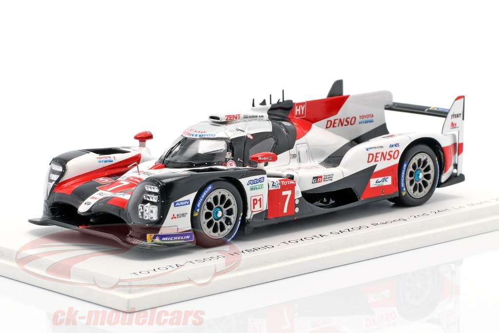 Toyota TS050 Hybrid #7 2º 24h LeMans 2019 Conway, Kobayashi, Lopez 1:43 faísca