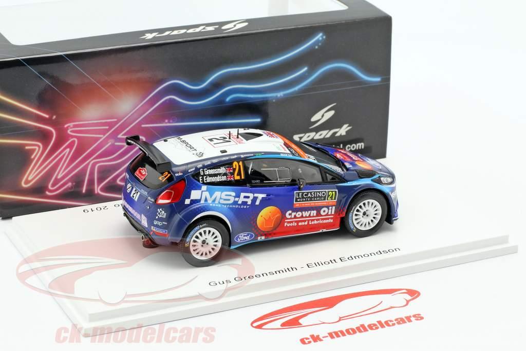 Ford Fiesta R5 #21 winner WRC2 Rallye Monte Carlo 2019 1:43 Spark