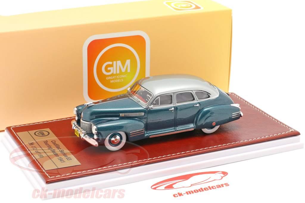Cadillac Series 63 Touring Sedan 1941 ozeanblau metallic 1:43 Great Iconic Models