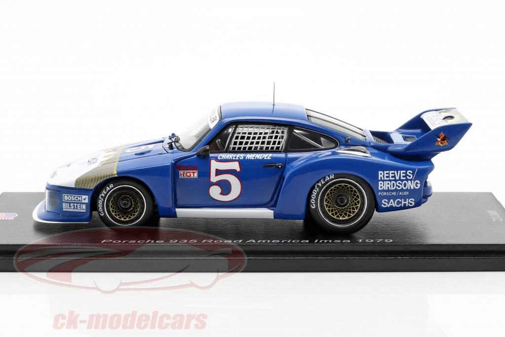 Porsche 935 #5 Road Atlanta 100 Miles 1979 Charles Mendez 1:43 Spark