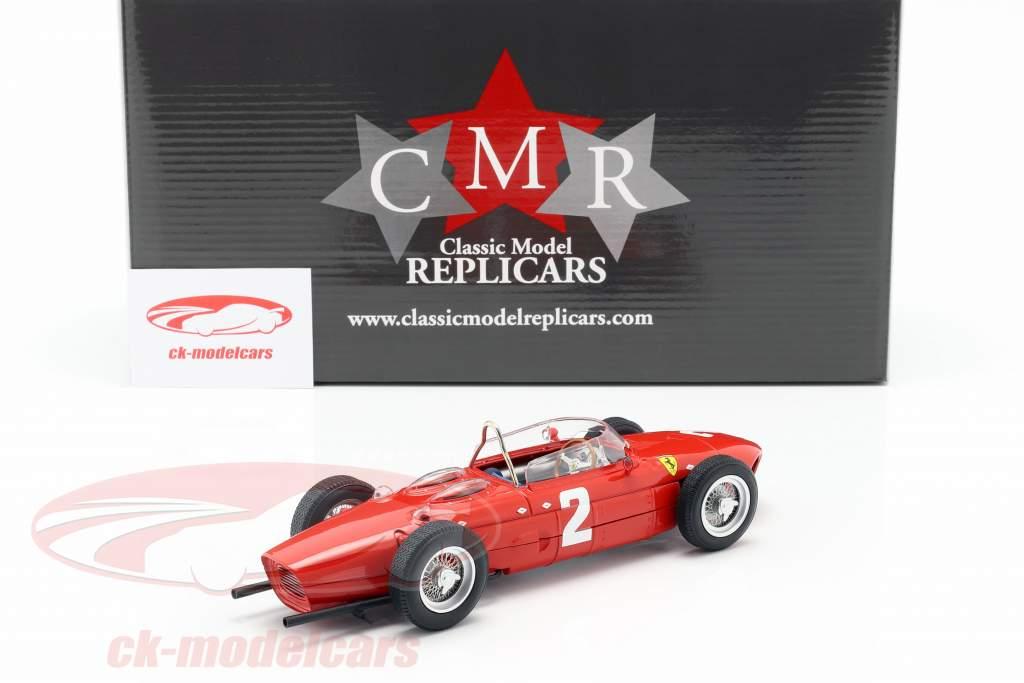 Phil Hill Ferrari 156 Sharknose #2 italian GP World Champion F1 1961 1:18 CMR