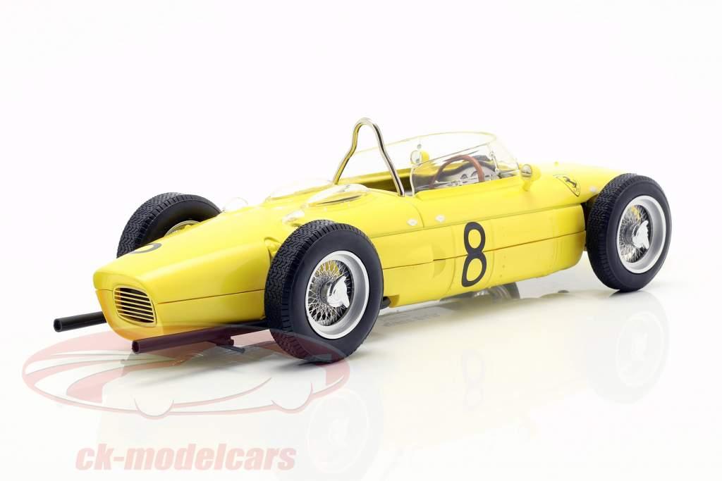 Olivier Gendebien Ferrari 156 Sharknose #8 4ª belga GP F1 1961 1:18 CMR