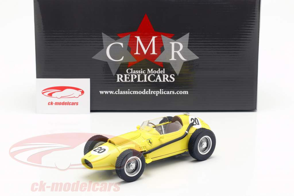Olivier Gendebien Ferrari Dino 246 #20 sexto belga GP F1 1958 1:18 CMR