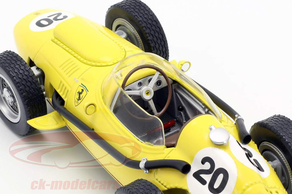 Olivier Gendebien Ferrari Dino 246 #20 6 belga GP F1 1958 1:18 CMR