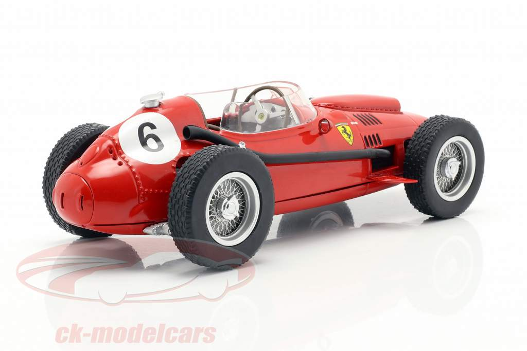 Mike Hawthorn Ferrari Dino 246 #6 2e Marokko GP wereldkampioen F1 1958 1:18 CMR