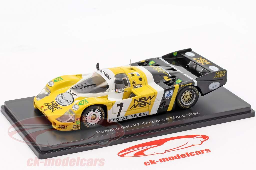 Porsche 956B #7 vincitore 24h LeMans 1984 Pescarolo, Ludwig 1:43 Spark