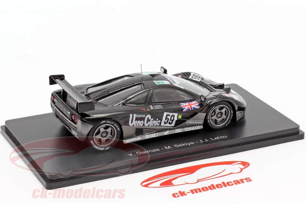 McLaren F1 GTR #59 ganador 24h LeMans 1995 Lehto, Dalmas, Sekiya 1:43 Spark