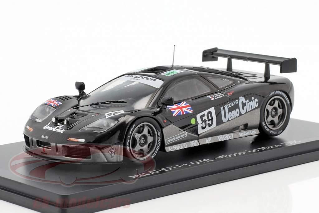 McLaren F1 GTR #59 Winner 24h LeMans 1995 Lehto, Dalmas, Sekiya 1:43 Spark
