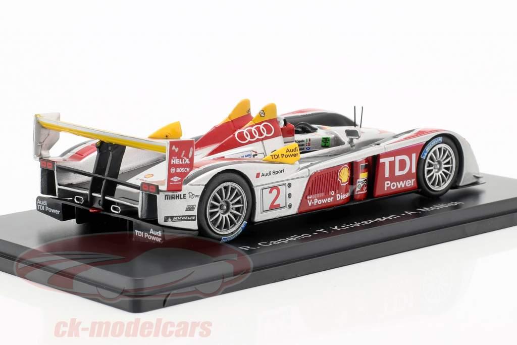 Audi R10 TDI #2 Winner 24h LeMans 2008 Capello, Kristensen, McNish 1:43 Spark