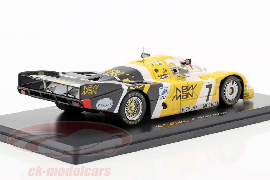 Porsche 956B #7 vencedor 24h LeMans 1984 Pescarolo, Ludwig 1:43 Spark