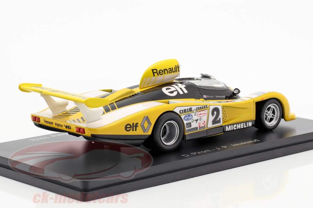 Renault Alpine A442 #2 gagnant 24h LeMans 1978 Pironi, Jaussaud 1:43 Spark