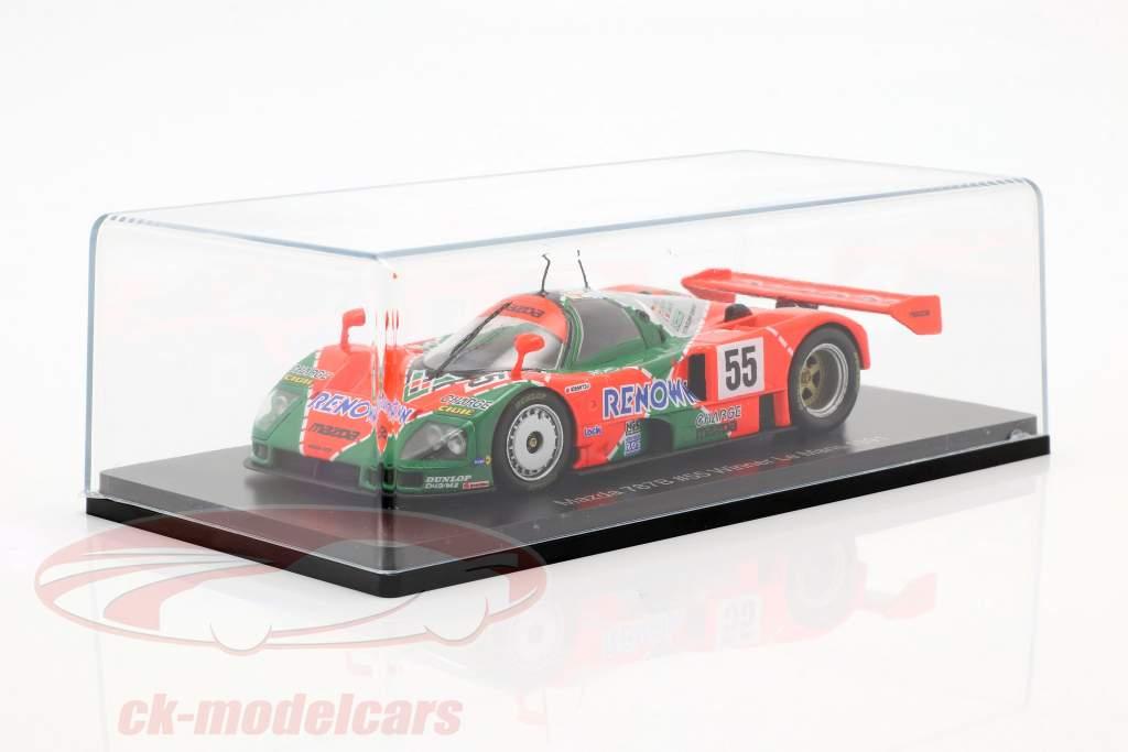 Mazda 787B #55 winnaar 24h LeMans 1991 Weidler, Herbert, Gachot 1:43 Spark