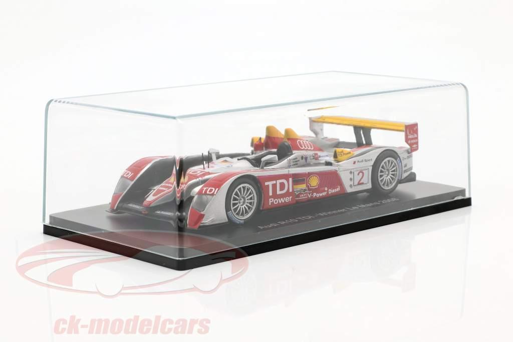 Audi R10 TDI #2 vencedor 24h LeMans 2008 Capello, Kristensen, McNish 1:43 Spark