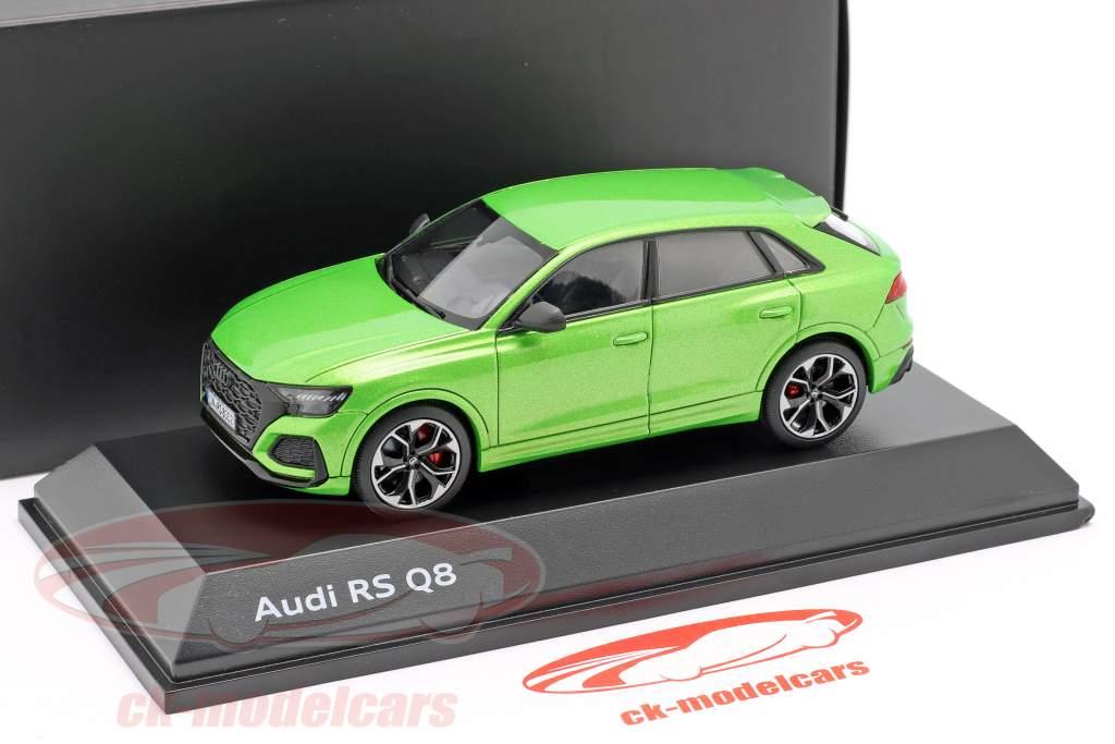 Audi RS Q8 anno di costruzione 2020 java verde 1:43 Jaditoys