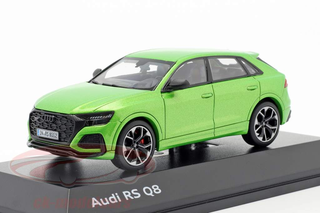 Audi RS Q8 year 2020 java green 1:43 Jaditoys