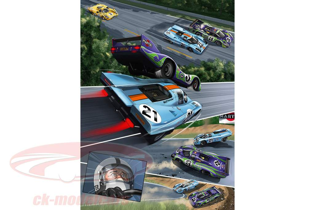 Comic: And Steve McQueen created LeMans (englisch) / von Sandro Garbo