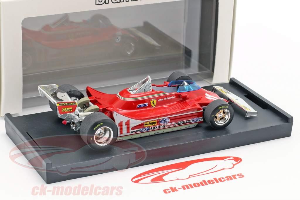 J. Scheckter Ferrari 312T4 #11 vincitore italiano GP campione del mondo F1 1979 1:43 Brumm
