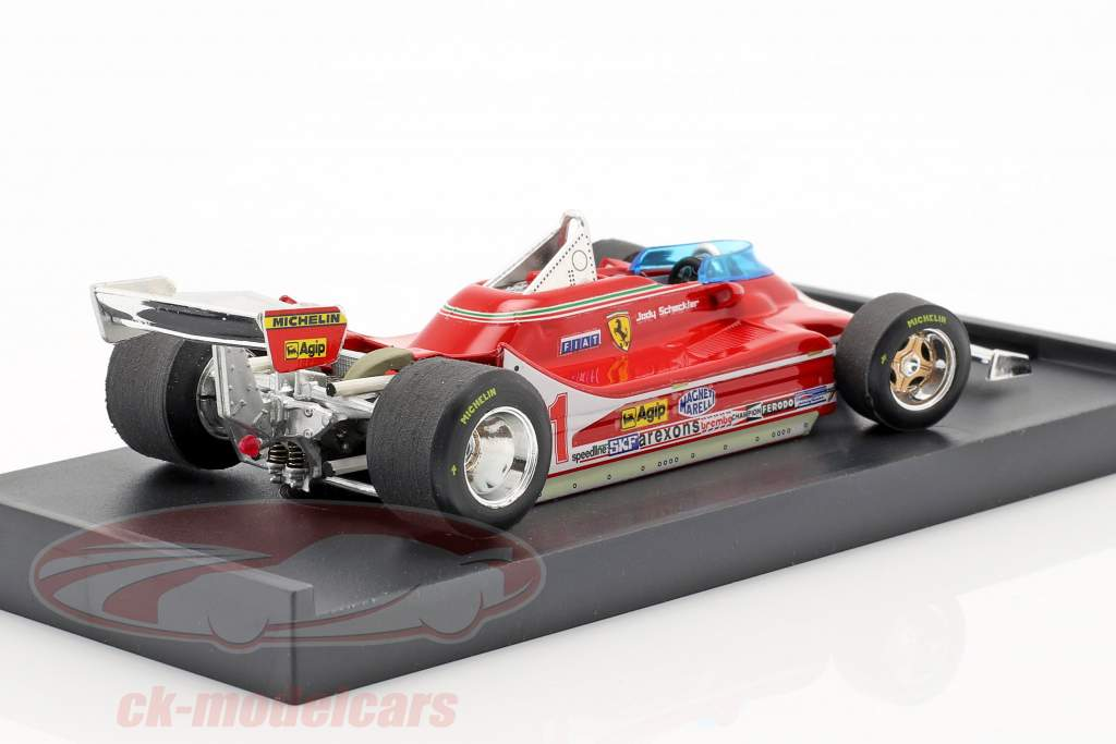 J. Scheckter Ferrari 312T4 #11 ganador italiano GP campeón del mundo F1 1979 1:43 Brumm