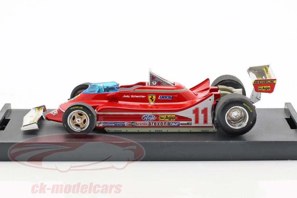 J. Scheckter Ferrari 312T4 #11 Sieger Italien GP Weltmeister F1 1979 1:43 Brumm