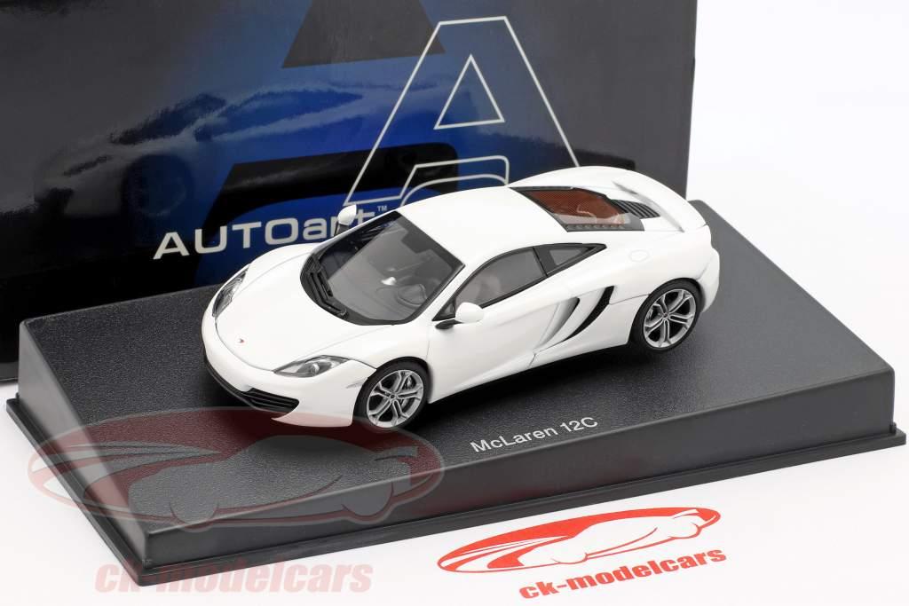 McLaren MP4-12C Baujahr 2011 weiß metallic 1:43 AUTOart