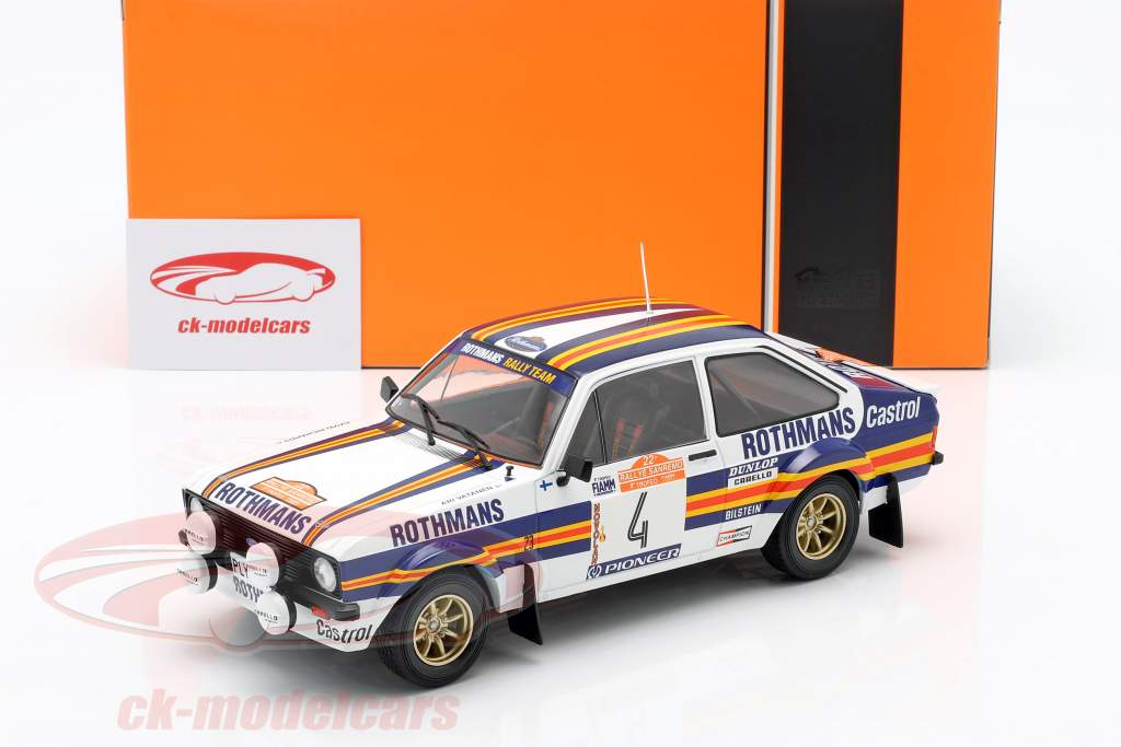 Ford Escort MK II RS1800 #4 2º Rallye SanRemo 1980 Vatanen, Richards 1:18 Ixo