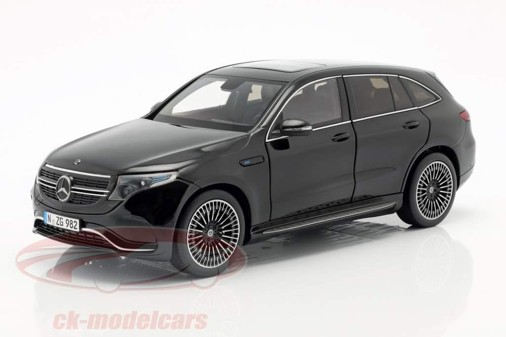 Mercedes-Benz EQC 4matic (N293) Baujahr 2019 schwarz 1:18 NZG