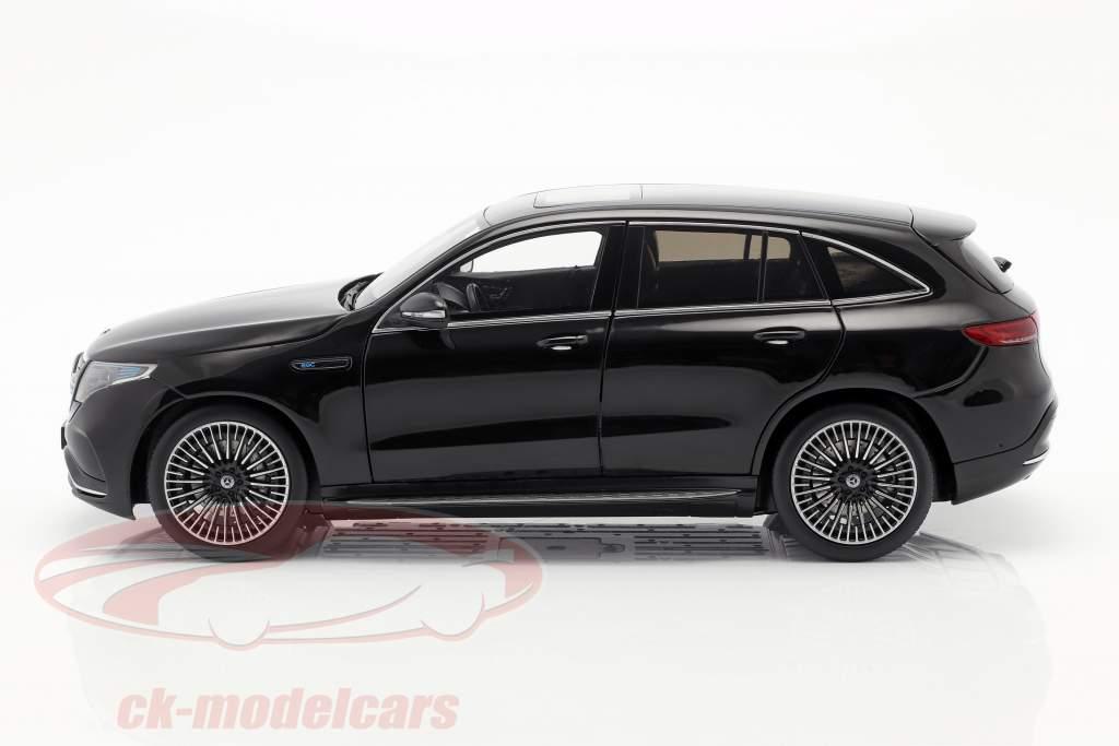 Mercedes-Benz EQC 4matic (N293) anno di costruzione 2019 nero 1:18 NZG