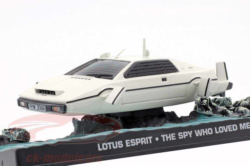 Lotus Esprit James Bond Movie Car Der Spion der mich liebte weiß 1:43 Ixo