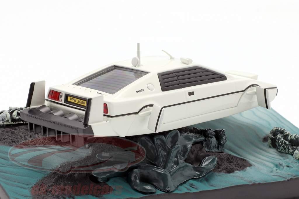 Lotus Esprit James Bond Movie Car white The Spy Who Loved Me 1:43 Ixo